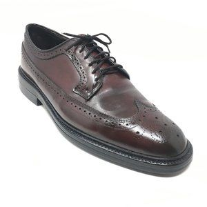 Bostonian Oxfords Shoes Size 11.5 Shell Cordovan